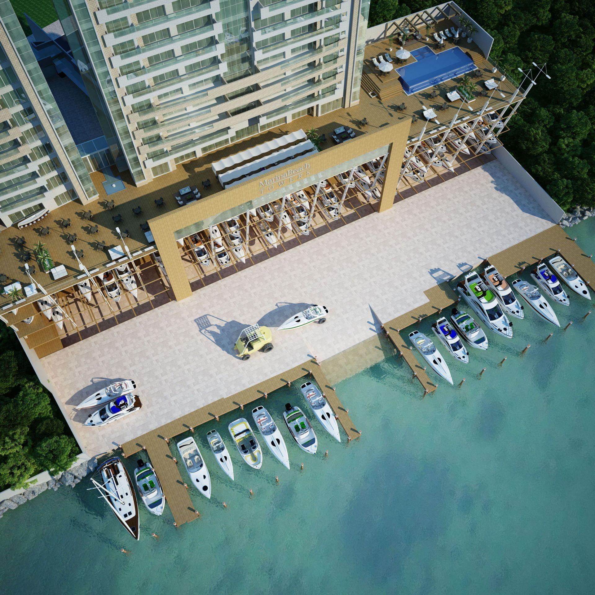 Melhor ap. do Marina Beach Towers!-104847